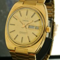 Omega Seamaster gold plated