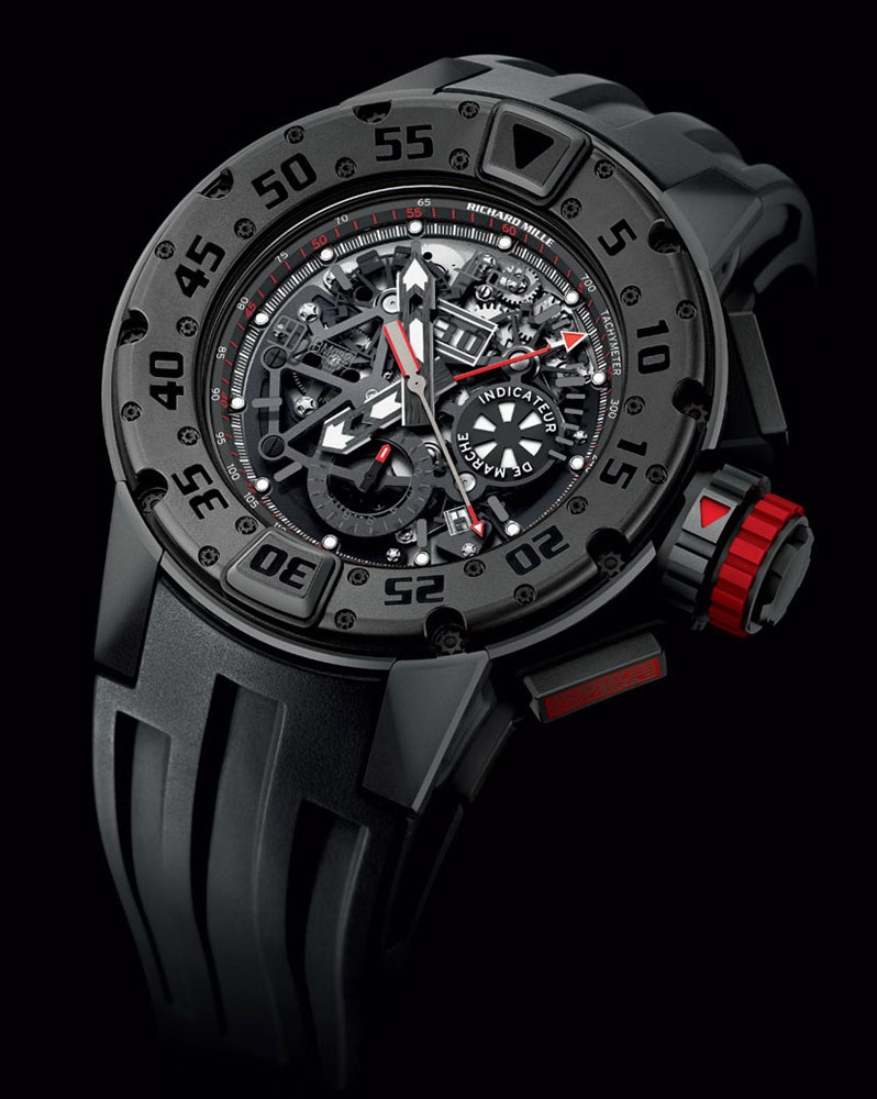 Richard Mille 032 Dark Diver Chrono