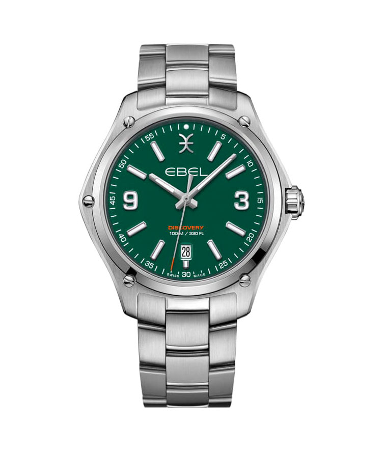 Ebel Discovery Gent Green Dial