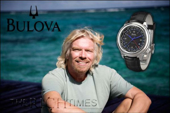 Bulova Accutron Richard Branson