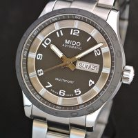 Mido Multifort Day Date automatic
