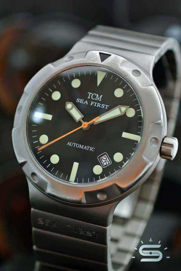TCM Sea First Automatico titanio