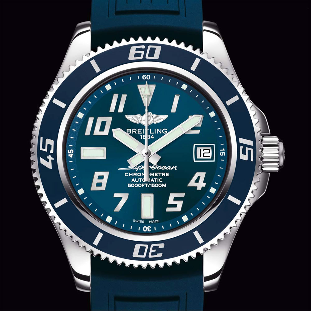 Breitling Superocean 42mm. Blu Limited Edition