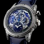 Louis Moinet Memoris Red Eclipse White Gold Edition