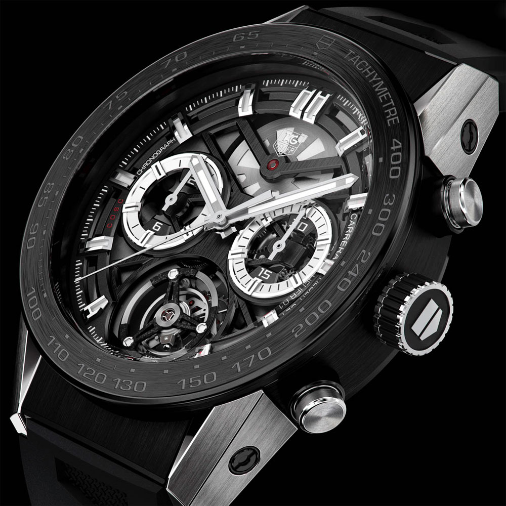 TAG HEUER CARRERA TOURBILLON CHRONO