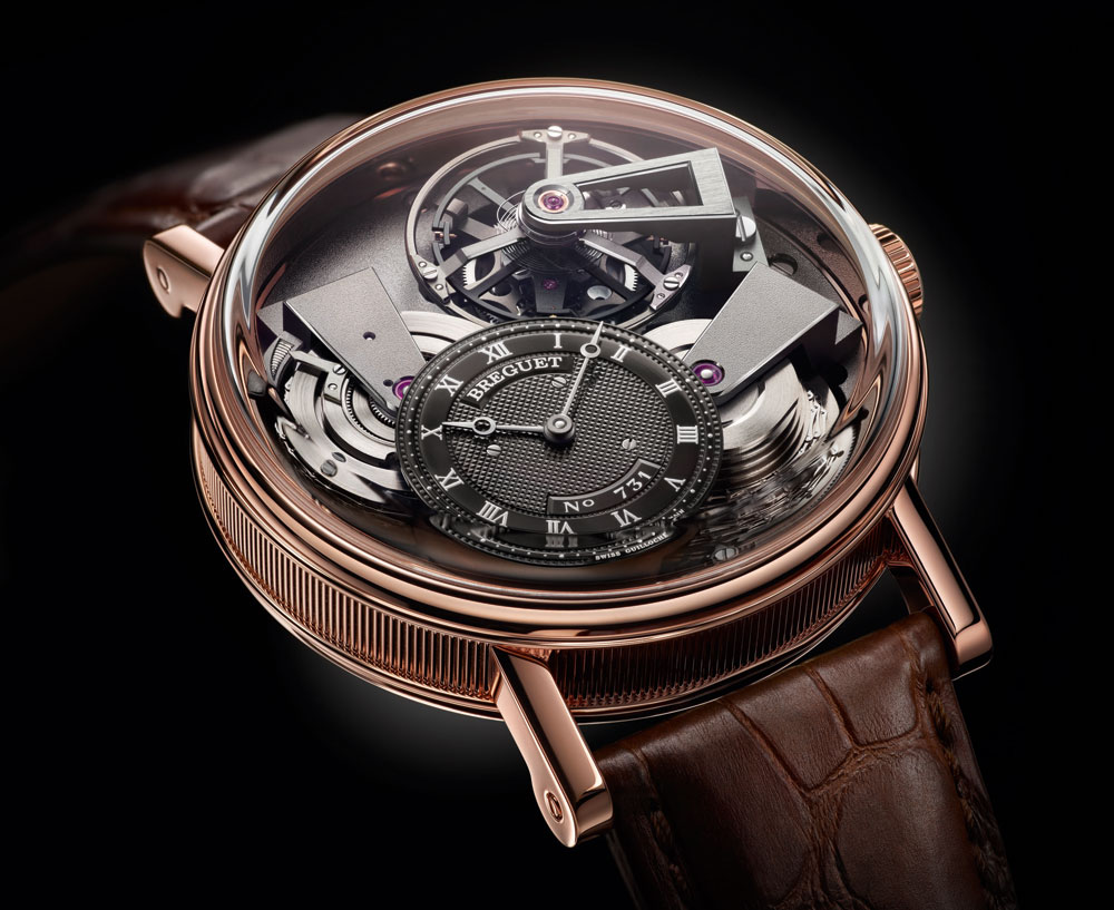 BREGUET TRADITION TOURBILLON ORO ROSA