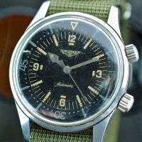 Longines diver 7494-2 due corone