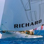 barca in regata a saint barth