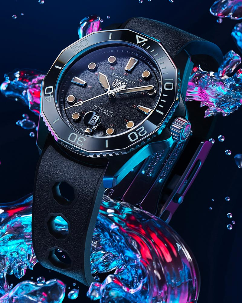 Tag Heuer Aquaracer 300 tribute to 844